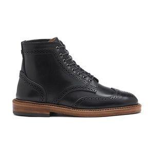 G.H Bass Handmade Wingtip boots